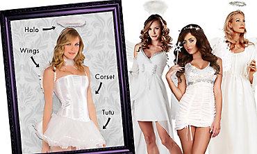 White Angel Mix & Match Women's Looks