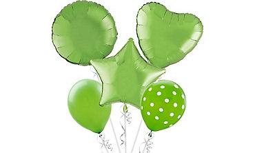 Kiwi Green Balloons