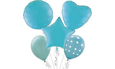 Caribbean Blue Balloons