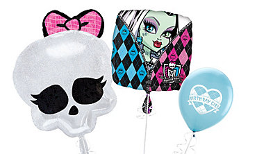 Monster High Themed Balloons