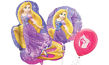 Rapunzel Themed Balloons