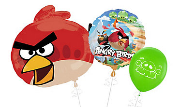 Angry Birds Themed Balloons