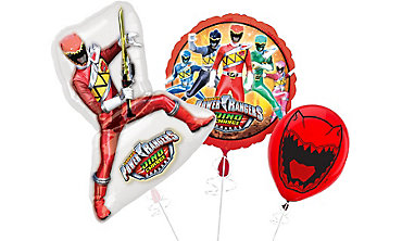 Power Rangers Themed Balloons