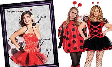 Ladybug Mix & Match Women's Looks