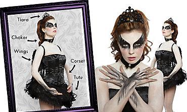 Ballerina Black Swan Mix & Match Women's Looks