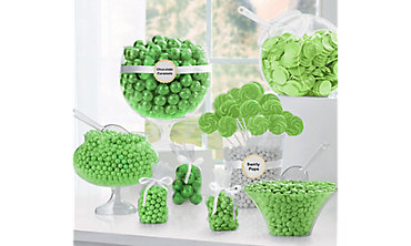 Kiwi Green Candy Buffet