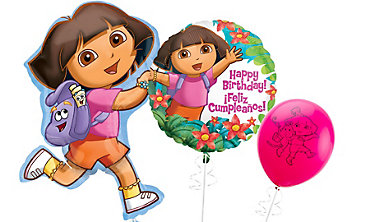 Dora Themed Balloons