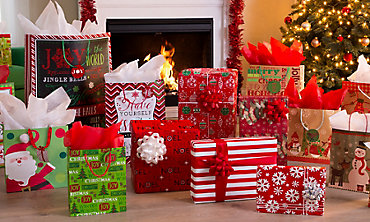Christmas Gift Bags & Gift Wrap