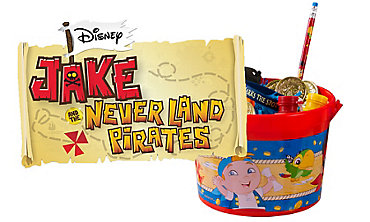 Jake and the Never Land Pirates Party Favors