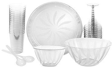 Clear Serveware & Drinkware