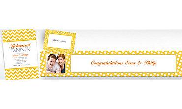 Sunshine Yellow Custom Invitations & Banners