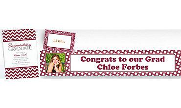 Berry Custom Invitations & Banners