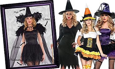 Witch Mix & Match Women's Looks