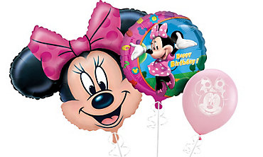 Minnie Mouse Themed Balloons