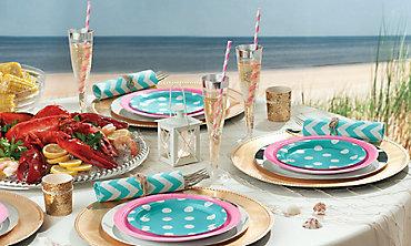 Dots & Chevron Beach Party