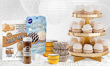 Gold Baking Supplies
