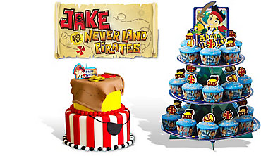Jake and the Never Land Pirates Cake Supplies