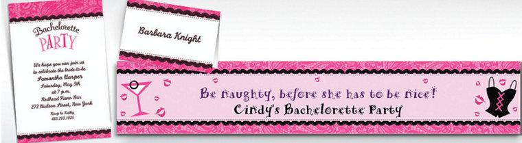 Custom Bachelorette Invitations & Thank You Notes