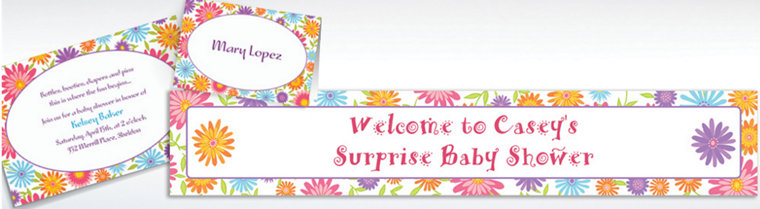 Custom Spring Day Invitations & Thank You Notes