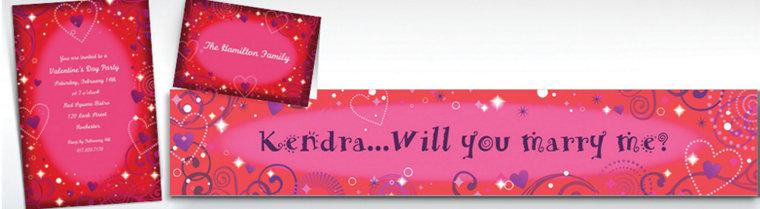Custom Love Crazy Valentine's Day Invitations & Thank You Notes
