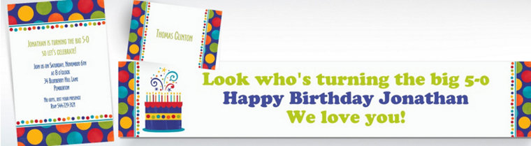 Custom Birthday Fever Fun Invitations & Thank You Notes
