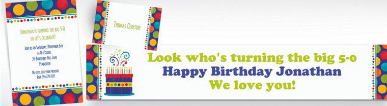 Custom Birthday Fever Fun Invitations & Thank You Notes