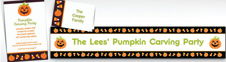 Custom Halloween Friends Halloween Invitations & Thank You Notes