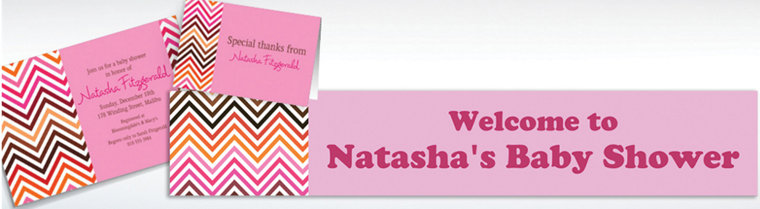 Custom Electric Wave Warm Invitations & Thank You Notes