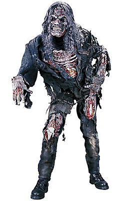 quick shop adult 3d zombie costume 3948 - Halloween Costumes Of Zombies