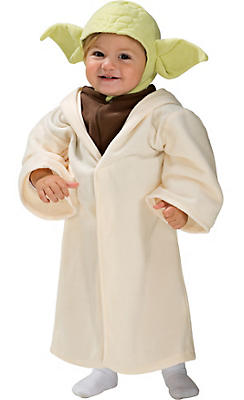 Toddler Boys Yoda Costume - Star Wars