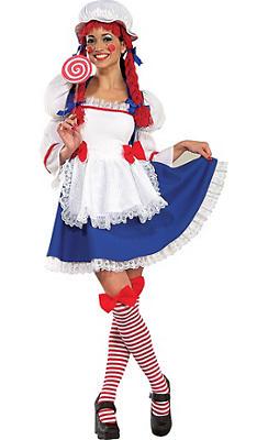 Adult Classic Rag Doll Costume