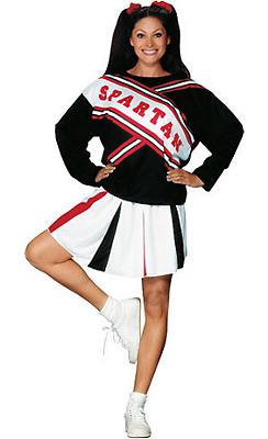 Adult Spartan Cheerleader Costume - SNL