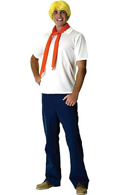 Adult Fred Costume - Scooby-Doo