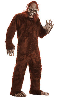 Adult Bigfoot Costume