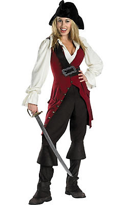 Adult Elizabeth Costume - Pirates of the Caribbean