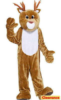 Adult Mascot Reindeer Costume