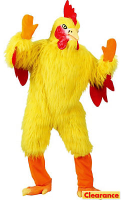 Adult Funny Chicken Costume