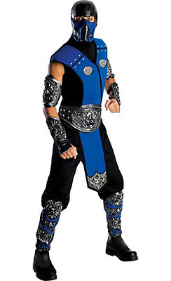 Adult Sub-Zero Costume Deluxe - Mortal Kombat