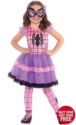 Child Spider-Girl Tutu Dress