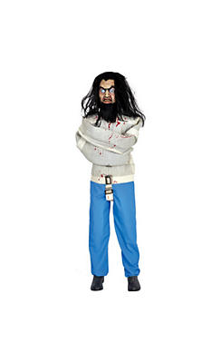 quick shop animated asylum patient - Animated Halloween Decorations