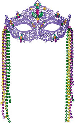 Filigree Mardi Gras Mask
