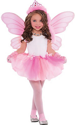 Girls Princess Fairy Costume