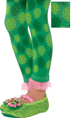 Child Teenage Mutant Ninja Turtles Footless Tights