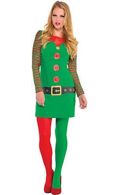 Elf Long-Sleeve Dress