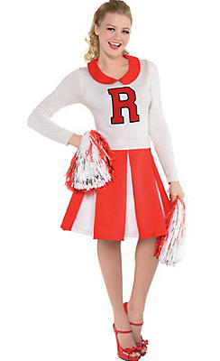Red Cheerleader Dress