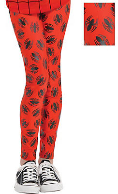Child Spider-Girl Leggings