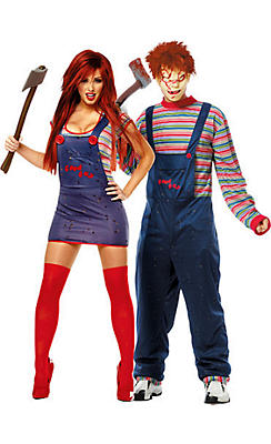 chucky couples costumes - Couple Halloween Costumes Scary