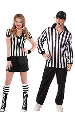 Adult Referee Couples Costumes