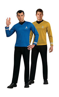 Star Trek Kirk and Spock Couple Costumes