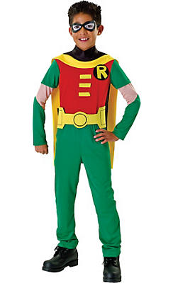 Party City Halloween Costumes For Boys baby superman costume Boys Robin Costume Teen Titans